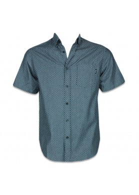 Diamond Short Sleeve Button Up