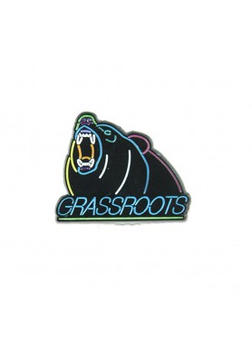 Neon Lines Bear Pin