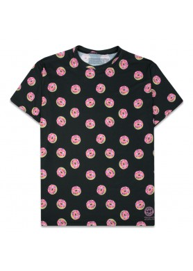 KGB Glass Pink Donuts T Shirt