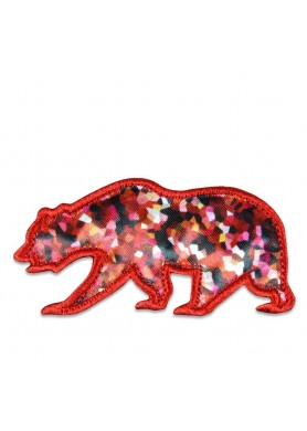 Red Crystal Removable Bear...
