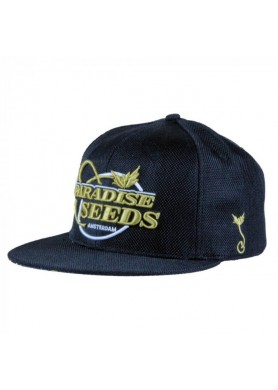 Black-Gold Hemp Snapback by...