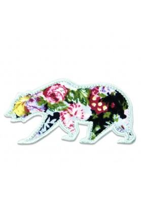 Small Floral Removable Bear...