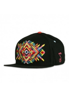 Symmulant Black Fitted Hat