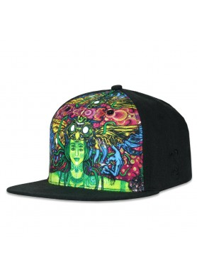 Sativa Goddess Black Snapback